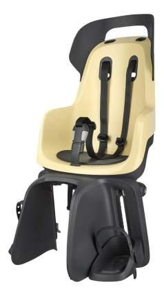 Велокресло BOBIKE Go Carrier с креплением на багажник желтое