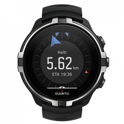 Смарт-часы Suunto Spartan Sport Wrist HR Baro черные/серебристые