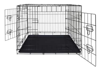 Клетка для собак Dog Land 92x58x64см, количество дверей 2