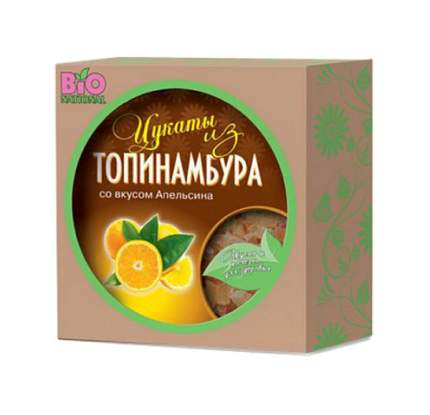 Цукаты Bio Nationa из топинамбура со вкусом апельсина  100 г