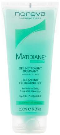 Гель для умывания Noreva Matidiane Cleansing Exfoliating Gel 200 мл