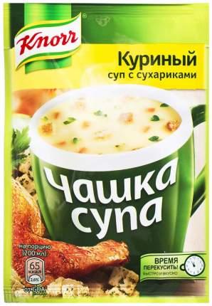 Суп Knorr чашка куриный с сухариками сухая смесь 16 г