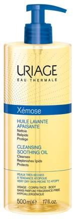 Масло для лица Uriage Xemose Очищающее успокаивающее масло 500 мл