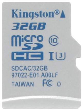 Карта памяти Kingston Micro SDHC SDCAC 32GB