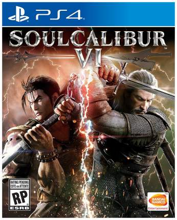 Игра для PlayStation 4 SoulCalibur VI