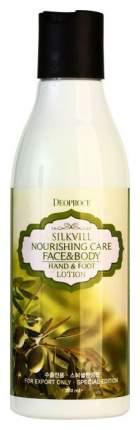 Лосьон для рук Deoproce Silkvill Nourishing Care Face & Body Hand & Foot 200 мл