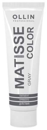 Краска для волос Ollin Professional Matisse Color Серый 100 мл