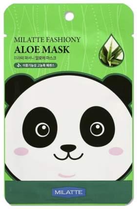 Тканевая маска для лица с экстрактом алоэ Milatte Fashion Aloe Mask Sheet, 21 г