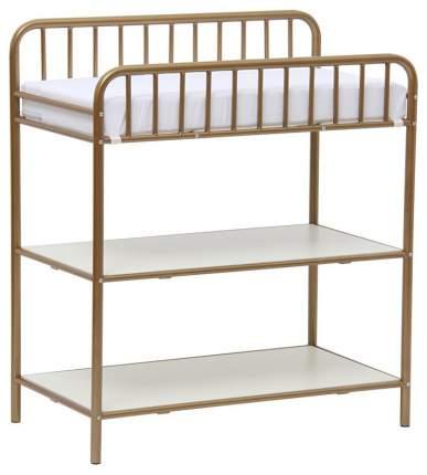 Столик для пеленания Polini Kids Vintagе 1180 металлический, Золотистый