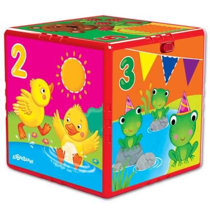 Игрушка музыкальная, Говорящий кубик, Счет, формы, цвета