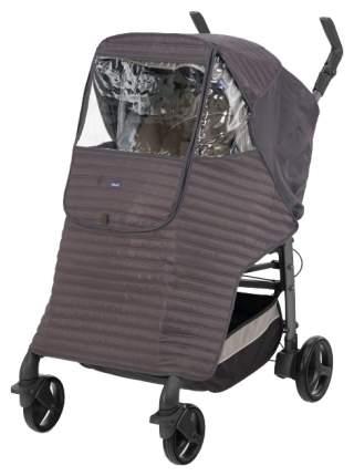 Дождевик-накидка Chicco на коляску Серый