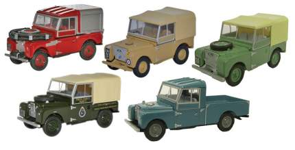 Коллекционная модель Land Rover LBDC575MXA