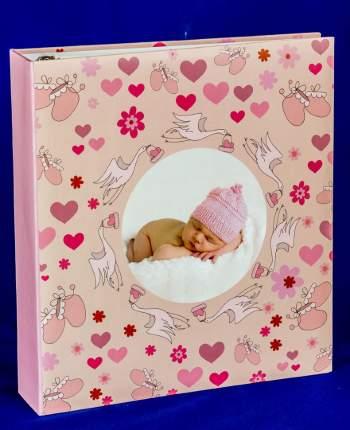 """Фотоальбом """"Спящая малышка"""" на 100 магнитных страниц 23х28 см"""