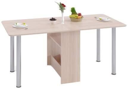Кухонный стол СОКОЛ 74x166x83 см, бежевый