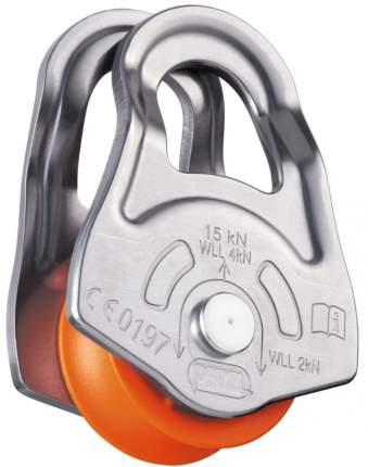 Блок Petzl Oscillante оранжевый/серый