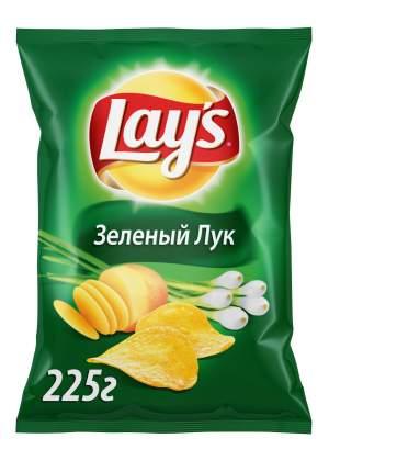 Картофельные чипсы Lay's зеленый лук 225 г