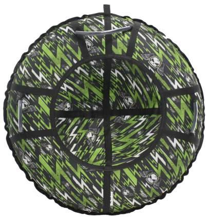 Тюбинг Hubster Люкс Pro Молнии зеленые 105 см
