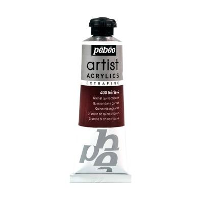 Акриловая краска Pebeo Artist Acrylics extra fine №4 гранатовый хинакридон 37 мл