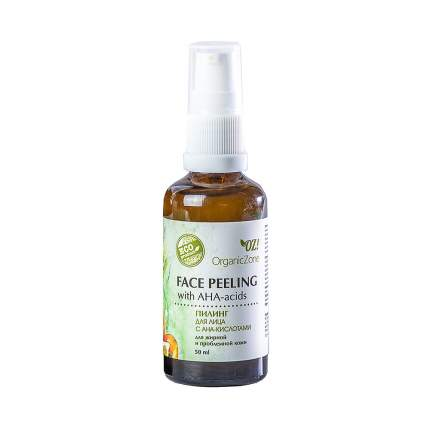 Пилинг для лица Organic Zone с АНА-кислотами для жирной и проблемной кожи