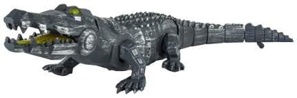 Интерактивное животное Robo Pets - Аллигатор-киборг (свет, звук) 1TOY