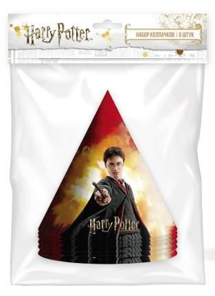Набор праздничных колпачков ND Play Harry Potter, 6 шт