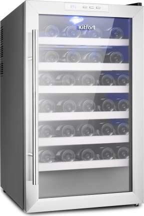 Винный шкаф Kitfort KT-2410 Silver