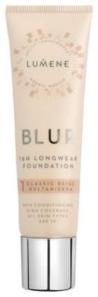 Тональный крем Lumene Blur 16h Longwear Foundation SPF 15 1 Classic Beige 30 мл