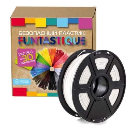 Пластик для 3D-принтера Funtastique PLA-1KG-WT PLA White