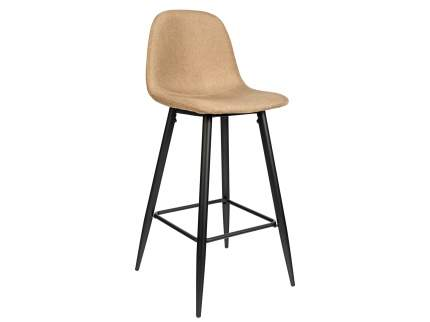 Полубарный стул STOOL GROUP Валенсия, серый/бежевый