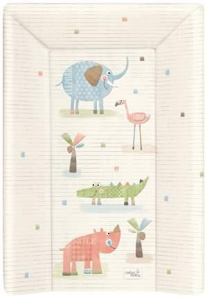 Матрац пеленальный Ceba Baby Elephant Gang ecru W-201-088-170