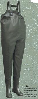 """Полукомбинезон рыбацкий """"Назия"""", арт. С066, укороченный сапог, размер сапог 29,2"""