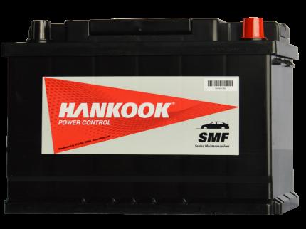 Аккумулятор HANKOOK 57412 (74R 680A 277x174x188) 57412