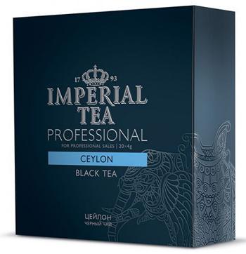 Чай черный среднелистовой цейлон Imperial tea professional пакетированный