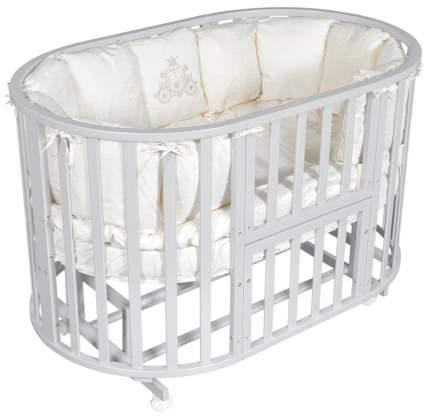 Кровать детская Антел Северянка 3 Автостенка, маятник поперечного качания