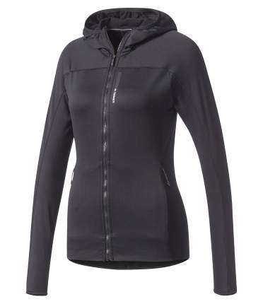 Женская толстовка Adidas Terrex Hooded Full Zip CE6476 черный 36