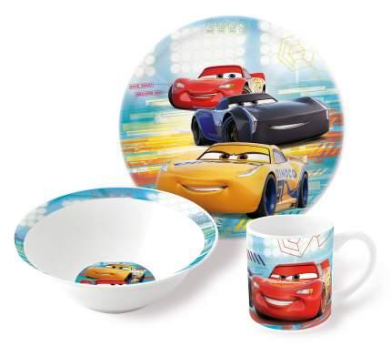 Набор посуды керамической Stor в подарочной упаковке Тачки Светофор, 46155