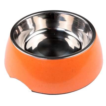 Миска для домашних животных Bobo, оранжевая, 340 мл