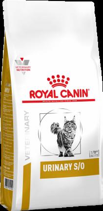 Сухой корм для кошек ROYAL CANIN Urinary S/O, лечение и профилактика МКБ, 3,5кг