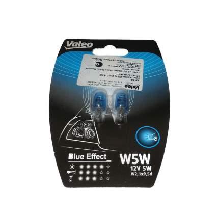 Лампа W5w Cardboard X10 Blue Effect Valeo арт. 32700