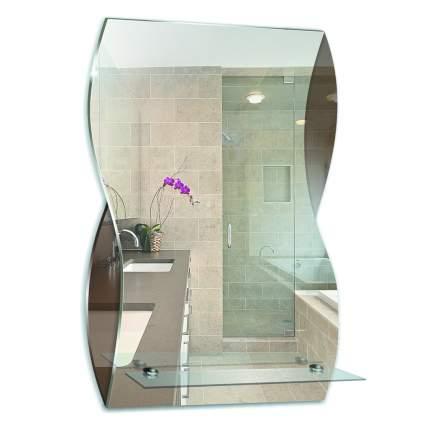 """Зеркало для ванной MIXLINE """"Аква"""" 395*600"""