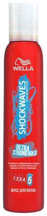 Мусс для волос Wella Shockwaves Ultra Strong Hold 200 мл