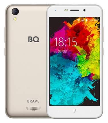 Смартфон BQ 5008L Brave 16Gb Gold