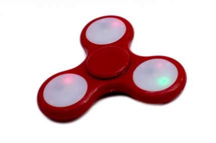 Спиннер-антистресс с LED подсветкой, красный
