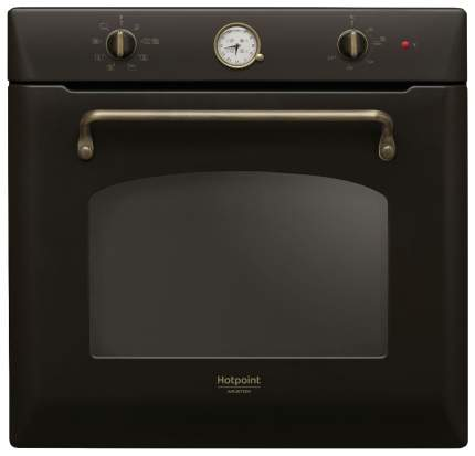 Встраиваемый электрический духовой шкаф Hotpoint-Ariston FIT 804 H AN HA Black