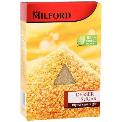Сахар милфорд десертный коричневый тростниковый кристаллы 500 г