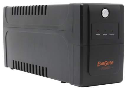 Источник бесперебойного питания Exegate Power Back NNB-800 Черный