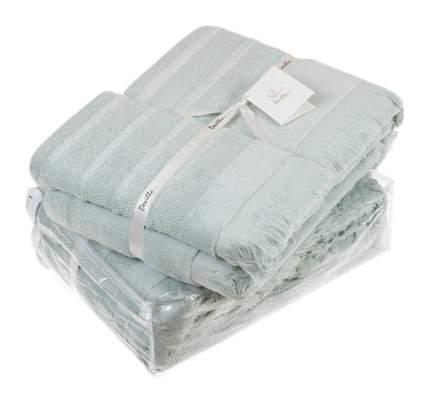 Банное полотенце, полотенце универсальное Devilla mousse зеленый