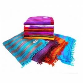 Плед для йоги RamaYoga Nepal Queen, разноцветный
