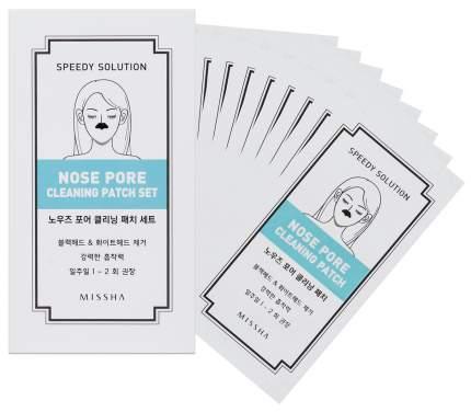 Патчи для очищения кожи MISSHA Speedy Solution Nose Pore Cleaning Patch Set 25 г