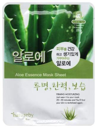 Маска для лица Natureby Aloe Essence Mask Sheet 23 г